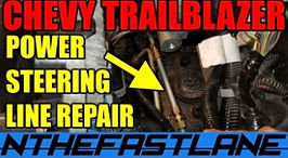 Trailblazer Power Steering Line Repair.j
