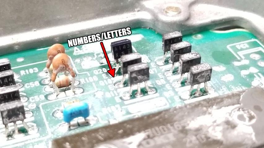 PNP Digital Transistor A143XSA Direction