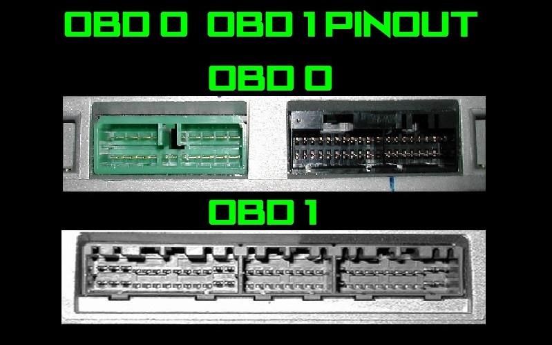 P06 Obd1 Ecu Pinout