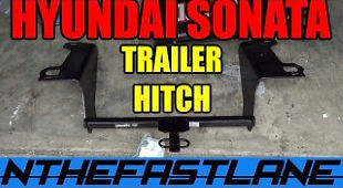 Hyundai Sonata Trailer Hitch Install 201