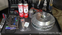 Parts and tools for brake repair