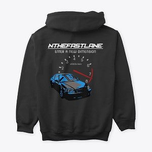Classic Pullover Hoodie Honda Civic Blue-Gray Nthefastlane