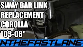 SWAYBAR LINK REPLACEMENT 03-08 COROLLA T