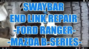 SWAY BAR END LINK REPAIR FORD RANGER MAZ