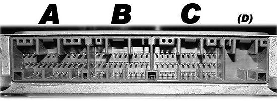 OBD2B Connector A Pinouts