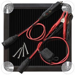 2.5 Watt Solar Battery Charger/Maintainer
