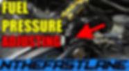 Adjusting A Fuel Pressure Regulator How