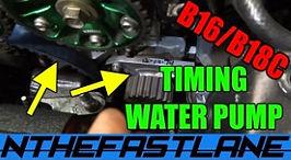 Timing Belt & Water Pump Replacement Hon