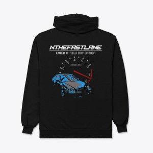 Unisex Zip Hoodie Honda Civic Blue-Gray Nthefastlane