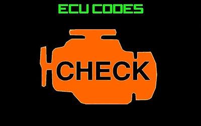 OBD1 OBD2 Ecu Code Index