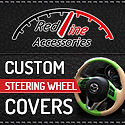 Redline Banner Steering Wheel Cover 125.