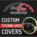 Redline Banner Steering Wheel Cover 125.