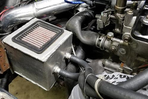 Catch Can Bracket Template Honda Civic 96-00