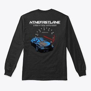 Long Sleeve Honda Civic Blue-Gray Nthefa