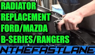 Radiator How To Replace Mazda B2300 Ford