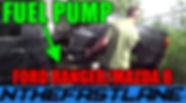 Fuel Pump Replacement Ford Ranger Mazda