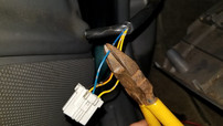 Snipping Blue/Silver Cruise Control 12V Ignition ON 96-00 Honda Civic