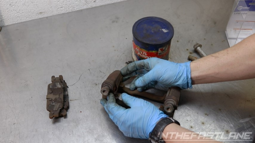 Remove brake clips