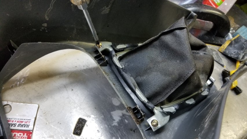 Removing Shifter Boot Image 1