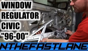 Window Regulator How To Replace (Civic C
