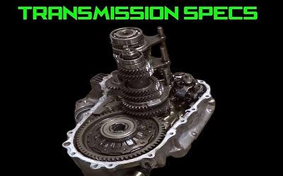 Honda Transmission Gear Ratios