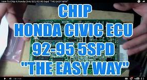 CHIP A HONDA CIVIC ECU 92-95 5SPD THE EA