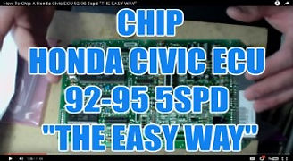 CHIP A HONDA CIVIC ECU 92-95 5SPD THE EA