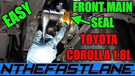 Front Main Seal Replacement (Toyota Coro
