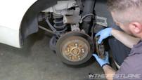 Brake carrier removal
