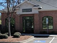 Front of Entrance- far left suite