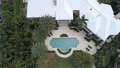 Luchtfoto van een Huis van het Landgoed