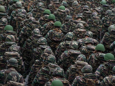 Adicional de Compensação por Disponibilidade Militar em porcentagem igualitária