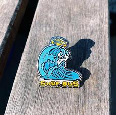 Surf Bus Pin