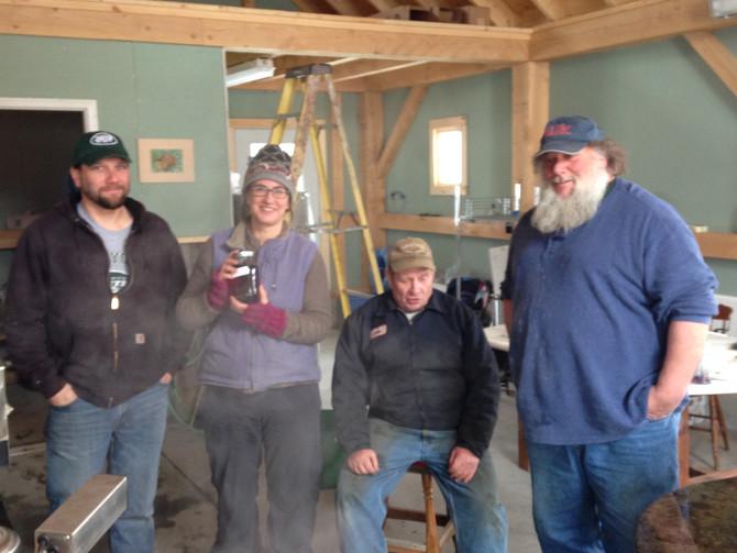 Collin, Katya, John and Ed Sugarin' 2014 - Our First Batch