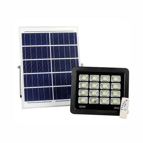 Refletor Solar 120 W com Controle 12 W Real 3500 Lúmens
