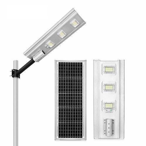 Luminária Solar 300 W All-in-One 35 W Real para postes de 6~8 m 6.000 Lúmens