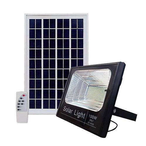 Refletor Solar 100 W com Controle 4500 Lúmens