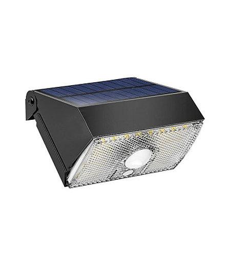 Arandela Solar 1000 Lúmens com Sensor de Presença