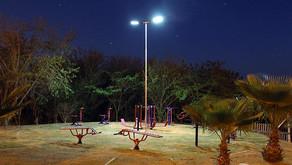 Praça em Nova Odessa ganha nova iluminação com energia solar