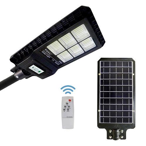 Luminária Solar 180 W All-in-One para postes de 6 a 7 m 5.400 Lúmens