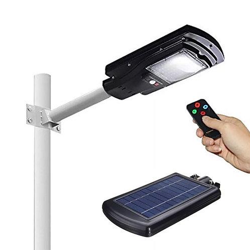 Luminária Solar de Segurança 30 W com Controle
