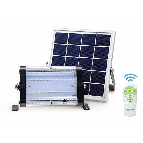Projetor Solar Inteligente 50 W com Controle 5000 Lúmens