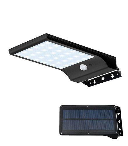 Arandela Solar de Parede 700 Lúmens com Sensor de Presença