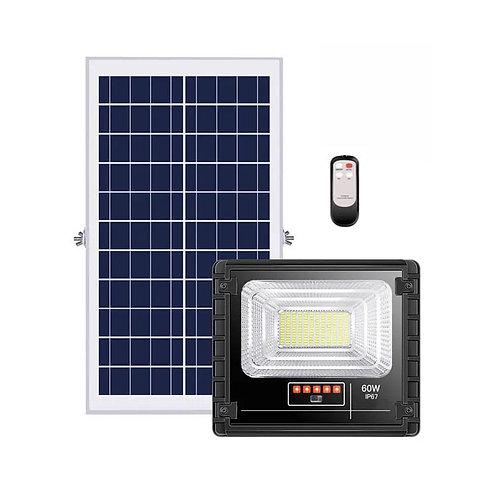 Refletor Solar 60 W com Controle 22 W Real 3000 Lúmens