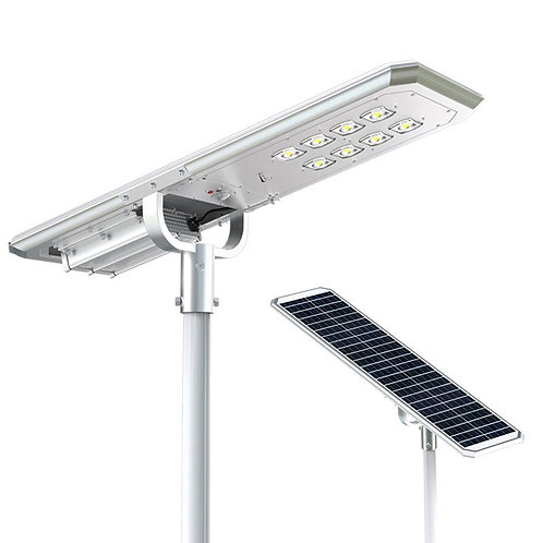 Luminária Solar Atlas 60 W All in One para postes de 5 a 6 m 6000 Lúmens