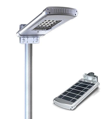 Luminária Solar 10 W All in One para postes de 2 a 3 m 1000 Lúmens
