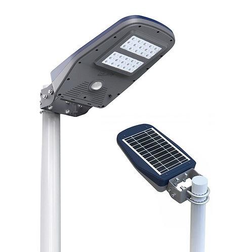 Luminária Solar 1.000 Lúmens All-in-One para poste de 2 a 3 m