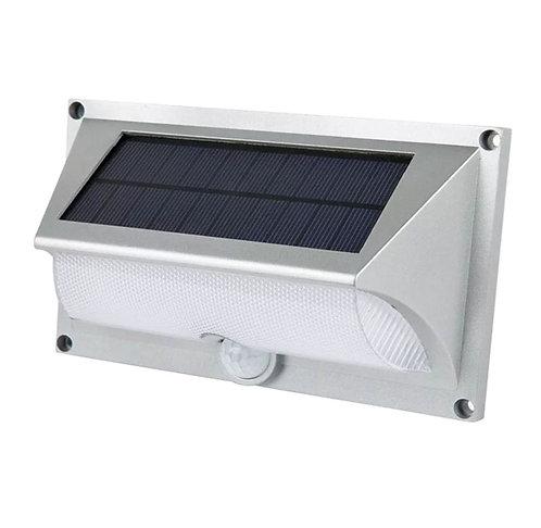 Arandela Solar ABS com Sensor de Presença 400 Lúmens
