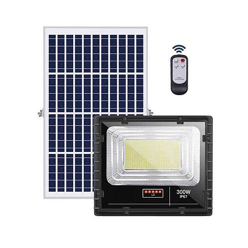 Refletor Solar 300 W com Controle 45 W Real 7000 Lúmens