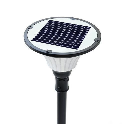 Luminária Solar Clássica 10 W para poste de 3 a 4 m 1.000 Lúmens